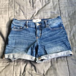Abercrombie Medium Wash Jean Shorts